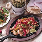 Fajitas from Our Mexican Restaurant